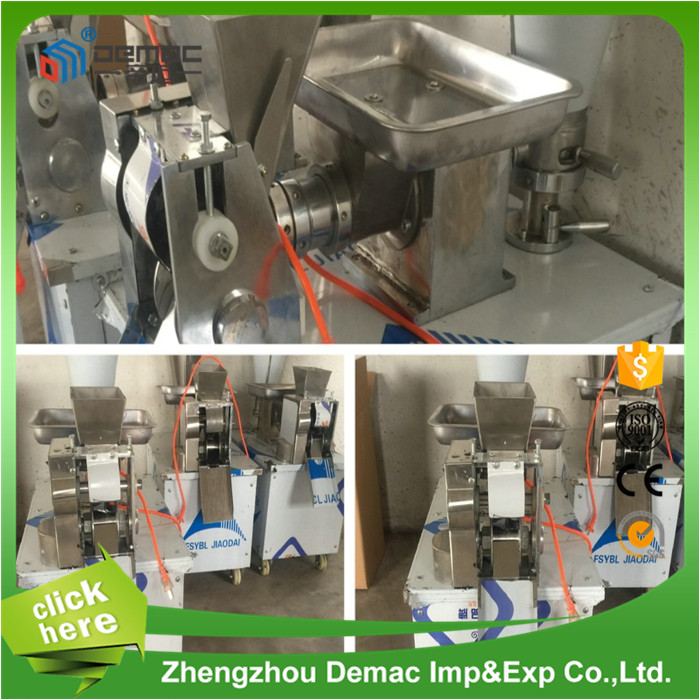 Low consumption home dumpling making machine/samosa maker