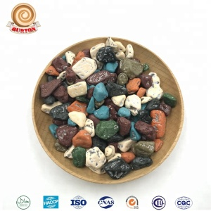 500g 1kg Halal high quality bulk packing stone chocolate