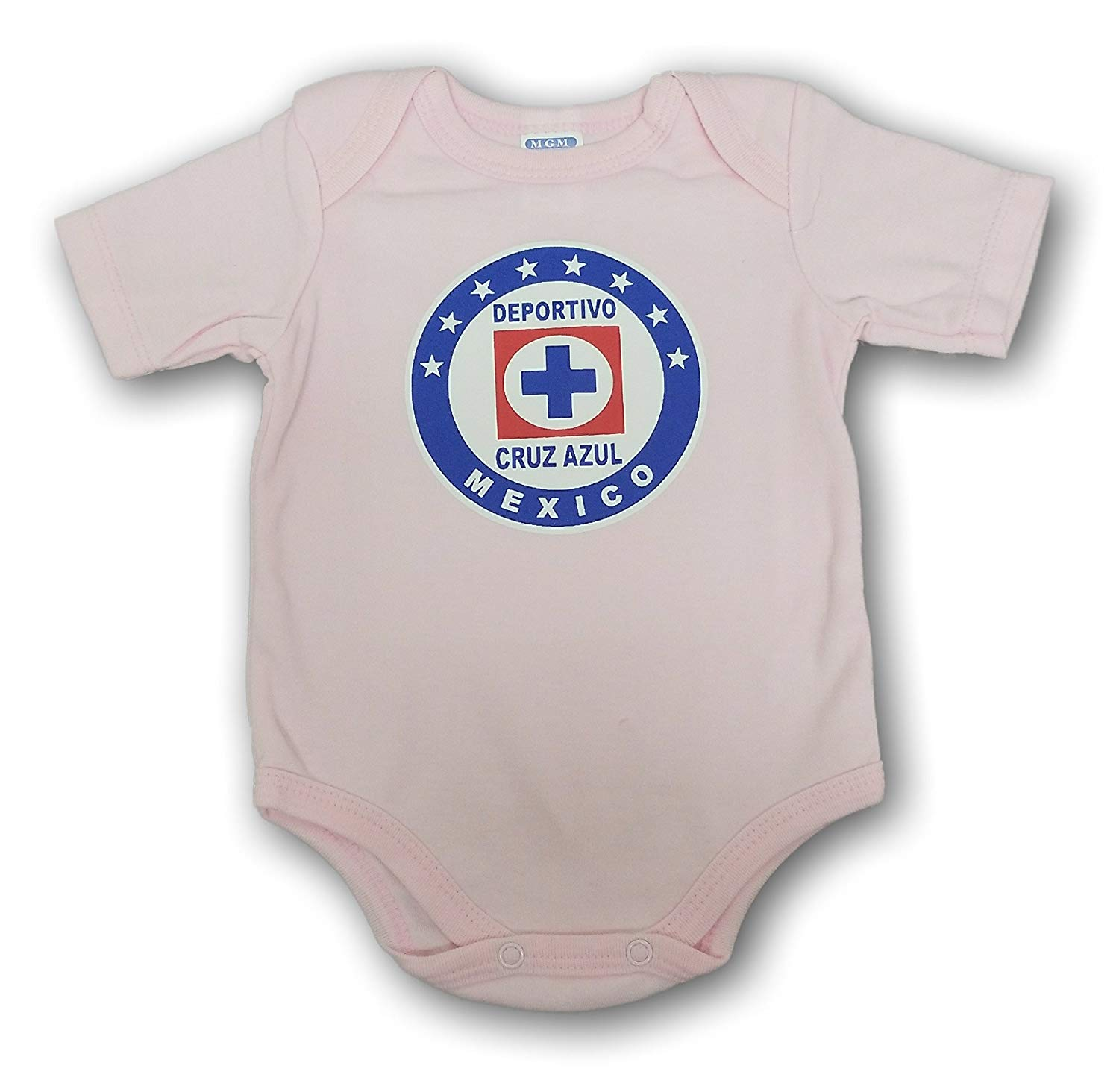 a78f1b489d9 Get Quotations · ESF Cruz Azul Baby Bodysuit Mameluco Jumpsuit Exclusive  Design