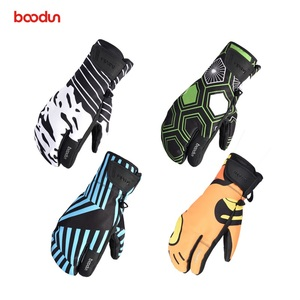 BOODUN Factory Price Custom Ski Gloves Waterproof