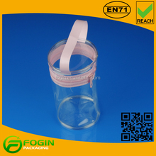 Toy/Candy/Round Transparent Plastic Zipper Bag