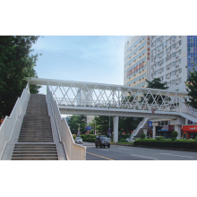 giant steel building structure used stainless steel material /pedestrian bridge/steel building warehouse