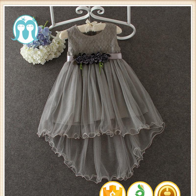 Neue Kinder Baumwolle Net Kleider Designs Rosa Blumenmädchen Kleid ...