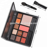 Professional Make Your Own Brand 11 Color Eyeshadow Palette With Brush