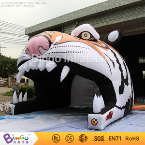 Factory price inflatable tigger inflatable guangzhou with logo