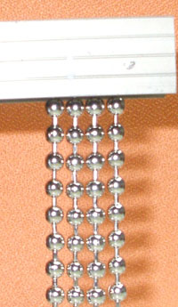 metal bead chain curtain