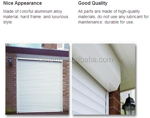 Commercial Stainless Steel Security Roller Shutter Doors