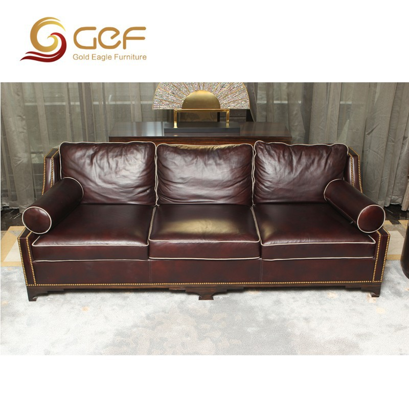 Dubai Furniture Genuine Italy Leather Sofa, View Italy Leather Sofa, GPF  Product Details From Gold Eagle Furniture Shanghai Co., Ltd. On Alibaba.com