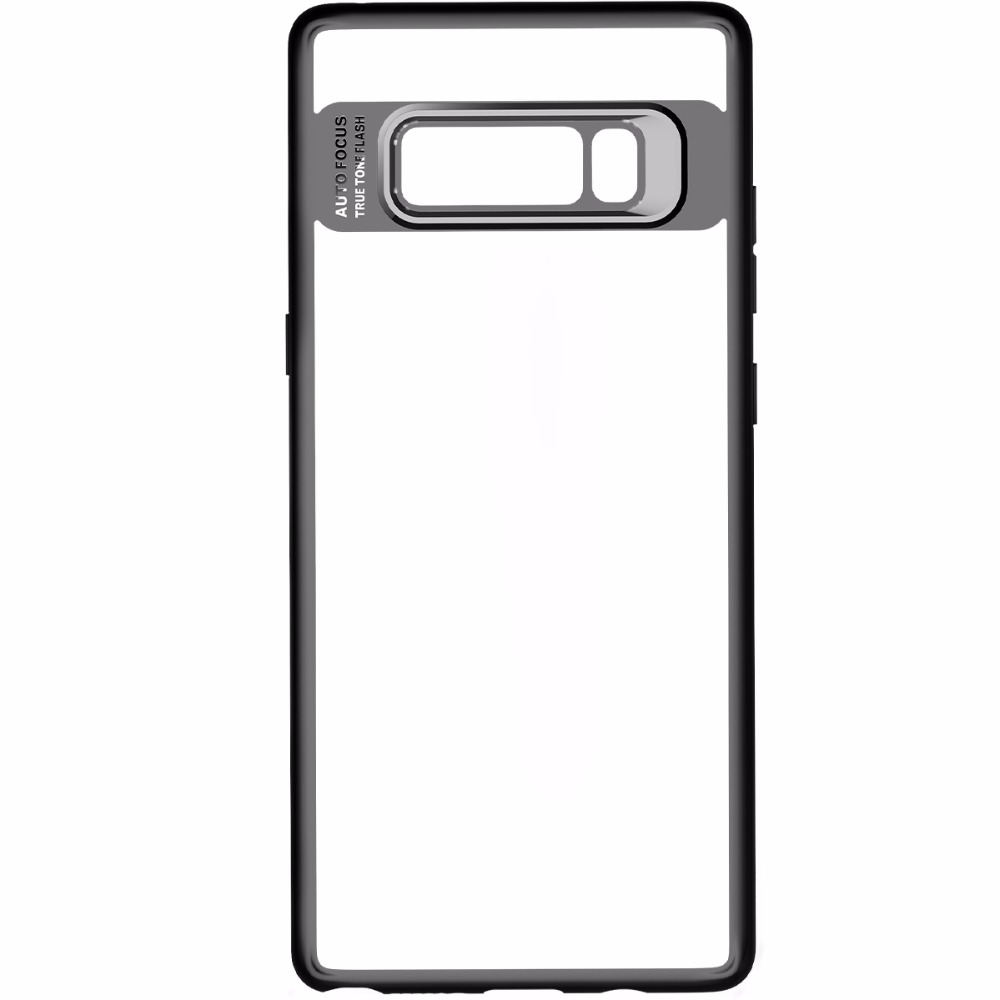 For Samsung Galaxy Note 8 Case Clear Hard PC Case Soft TPU Cover Case For Samsung Galaxy Note 8 MT-6622