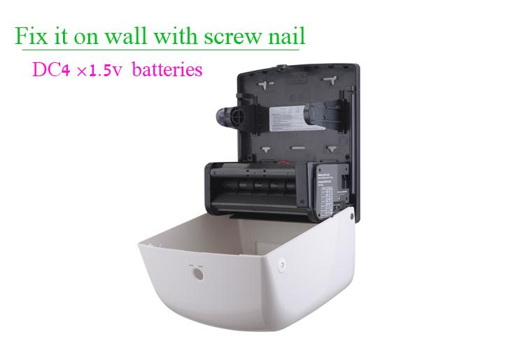 Jumbo Roll Plastic Automatic Sensor Paper Towel Dispenser