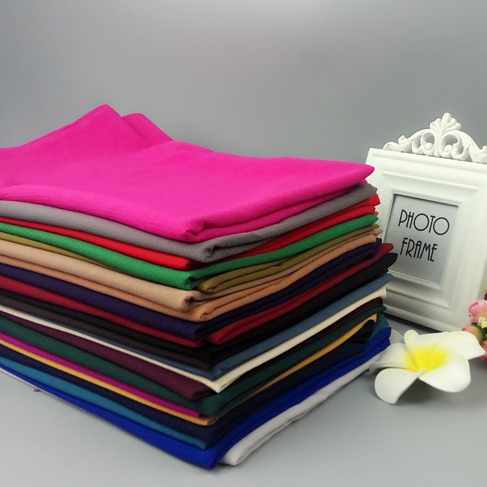 K187 heavy plain bubble chiffon High quality wrap hijab Shawl popular  muslim scarf scarves 180 75cm 11a876198cc