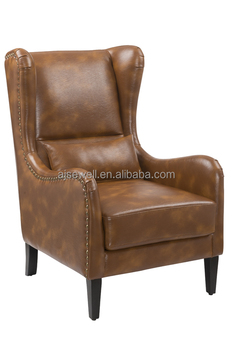 Bedroom Furniture Leisure Fabric Chair Comfortable Fashion High Back Armchair