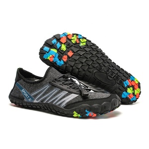 New Design Colorful Beach Snorkeling Sneakers Five Finger Shoes Men'S Five Finger Toes Shoes