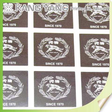 Taiwan Products Printing Vinyl Square Custom Logo Stickers