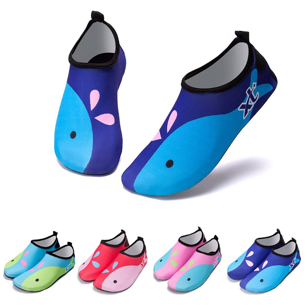 Girls Boys Water Aqua Shoes Quick Dry Youth Unisex Swim Beach Pool Surf Socks
