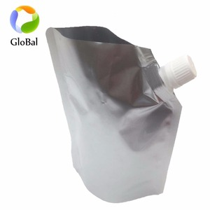 wholesale alibaba custom printing clear drink liquid stand up spout pouch for baby