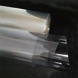 Made In China Wholesale Clear PVC Sheet Transparent Plastic Sheet Rolls