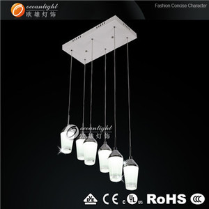 cup shape led pendant light , acrylic light ,Christmas pendant light om 88183-6