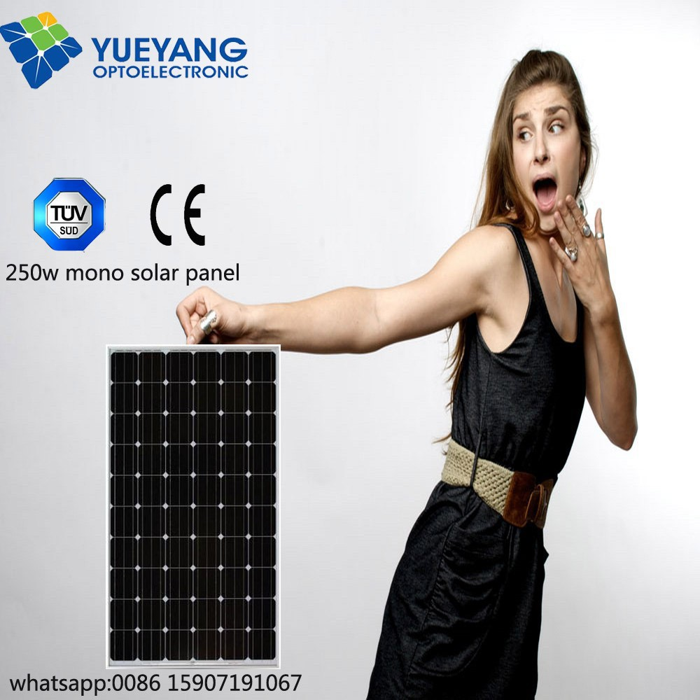 High efficiency A grade 60 cells 250w solar charger for nokia mobile hot sale in China