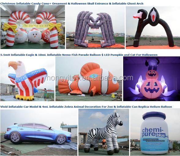 Custom Made Inflatable Parade Balloon, Skull Shaped Helium Balloon, Inflatable Floating Shull Balloon