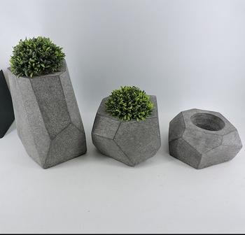 Hot Style Flower Pots Large Concrete Planters Wholes