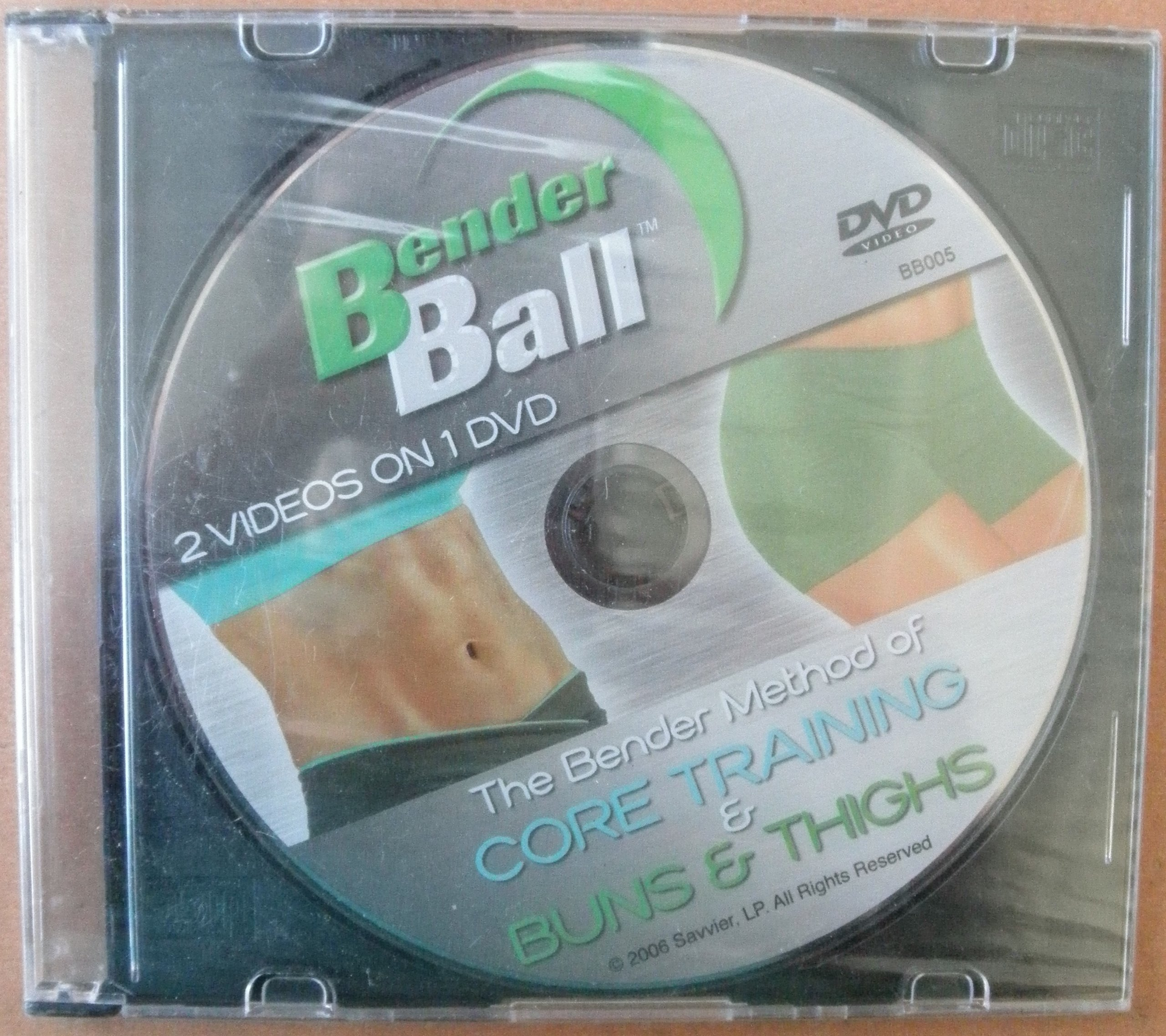 Bender Ball: The Bender Method of Core Training and Buns & Thighs - DVD
