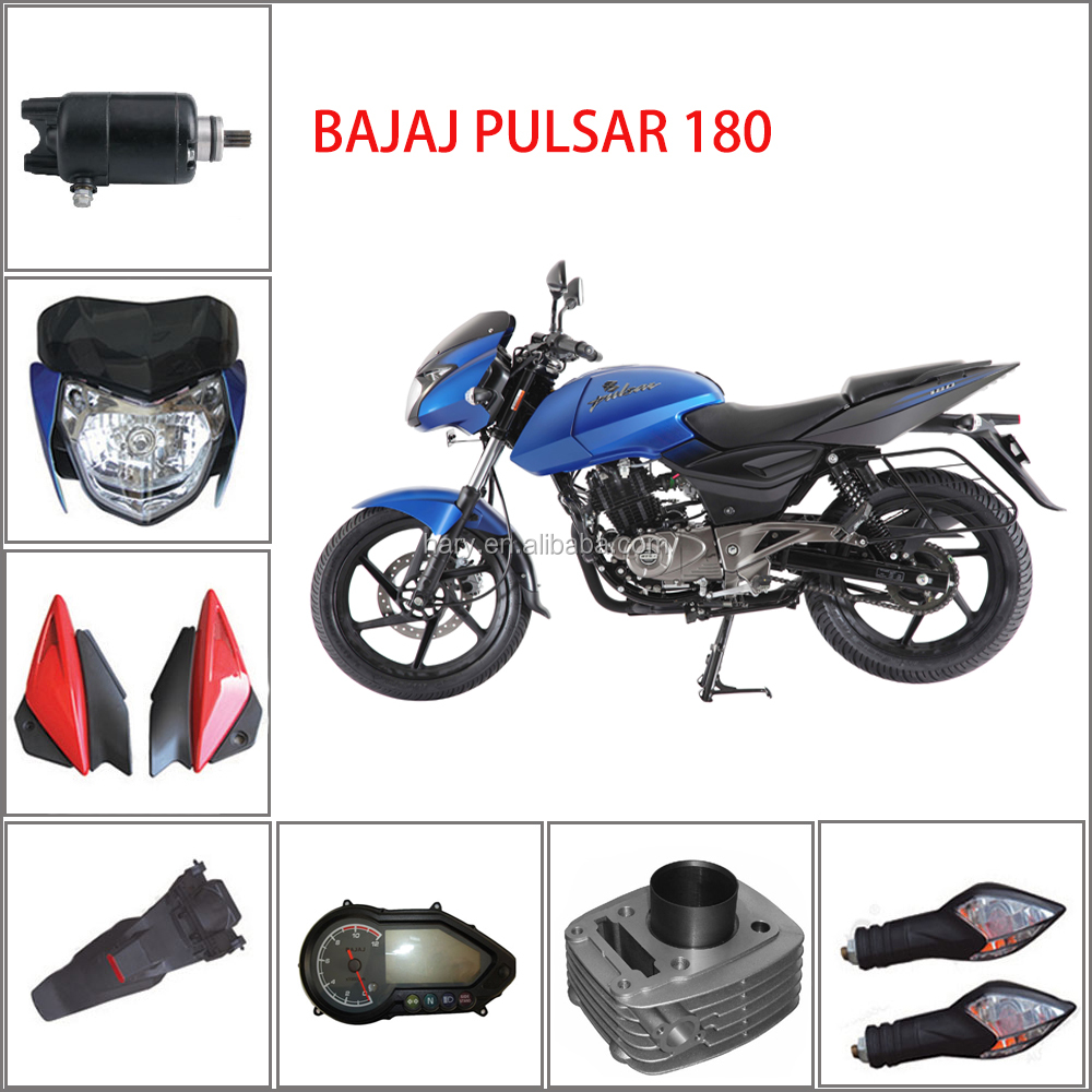 Bajaj Pulsar 180 Spare Parts, Bajaj Pulsar 180 Spare Parts Suppliers and  Manufacturers at Alibaba.com