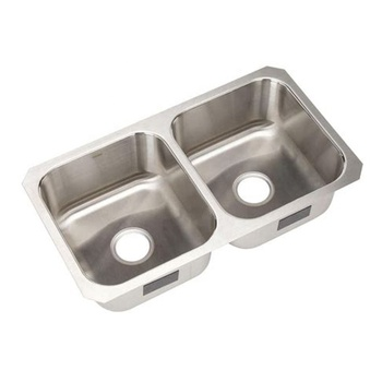 Custom Modern Double Bowl 304 Stainless Steel Kitchen Sink