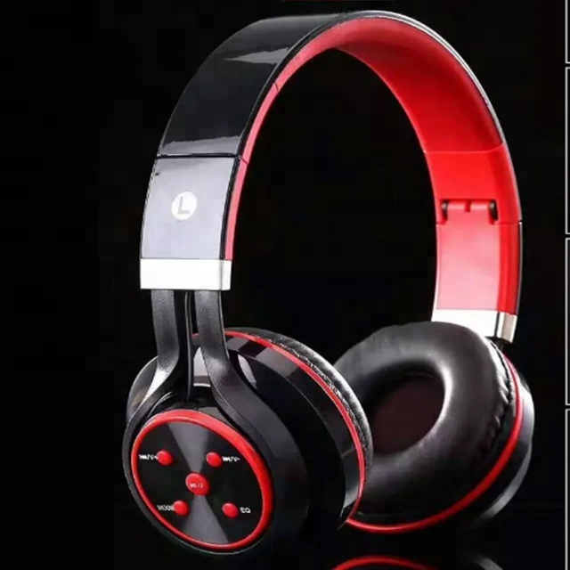 Wireless headphones over ear for pc/TV Noise Cancelling Stereo earphones Foldable Soft Memory-Protein Earmuffs Headphones