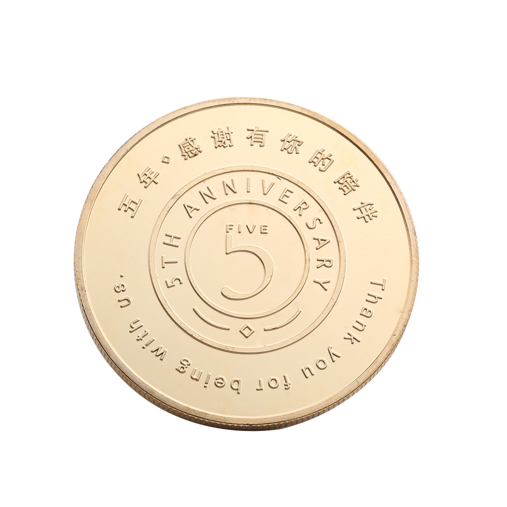 Custom Zinc Alloy Custom Old Gold Coins, Plating Souvenir Challenge Metal Coin