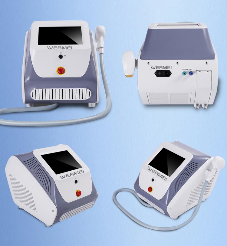755nm 808nm 1064nm Beauty Epilation Hair Ventilation Machine