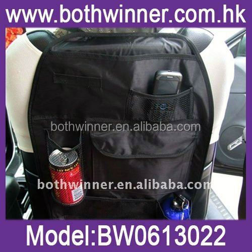 E122 seat side back storage pocket