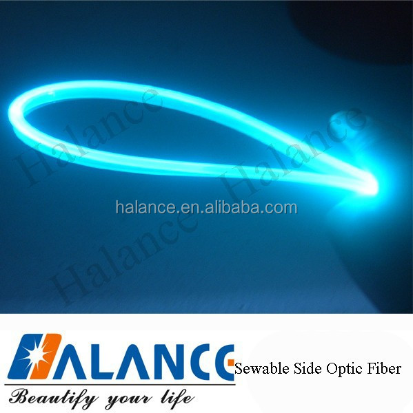 Sewable,Water Proof And Durable Fiber Optic Side Glow Cable ...