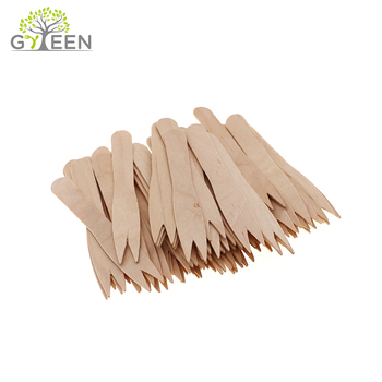 Natural Two Prong Wood Fork For Fruit From China