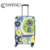 Customized Design Newest compass luggage trolley bag ABS suitcase PC luggage