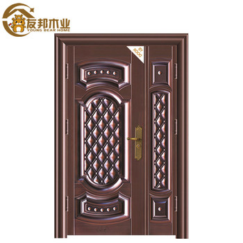 Egypt Paint Colors Wooden Safety Security Steel Door Designs Price