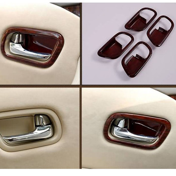 New Abs Painting Interior Door Handle Bowl Styling Cover For Nissan Patrol  Armada 2013 2014 2015 2016 2017 Accessories - Buy For Toyota Land Cruiser