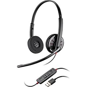 """Plantronics, Inc - Plantronics Blackwire C320-M Headset - Stereo - Usb - Wired - Over-The-Head - Binaural - Supra-Aural - Noise Cancelling Microphone """"Product Category: Audio Electronics/Headsets/Earsets"""""""