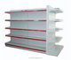 customized size hot sale heavy duty metal supermarket gondola display shelf / rack
