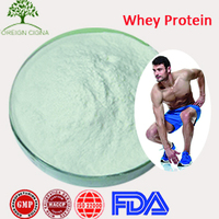 Sports Nutrition Supplement 100% Organic Whey Protein concentrate 80% / WPC 80%