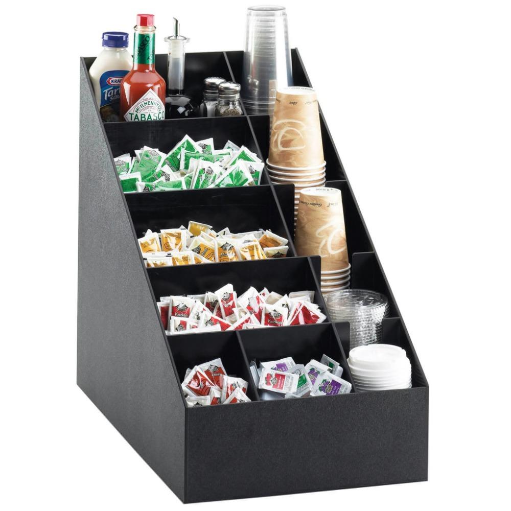 Nice Acrylic Cup U0026 Lid Dispenser Coffee Condiment Organizer Custom Holder