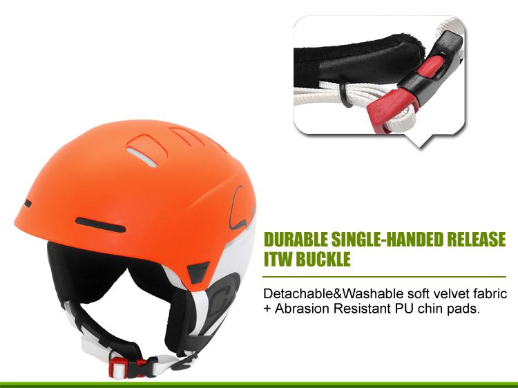 Multyfunctional Carbon Fiber Ski Helmet 11