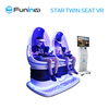 Hot sale 360 degree vr 9d cinema , 9d vr game simulator , double seats 9DVR