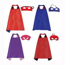 Commercio all'ingrosso Poliestere Per <span class=keywords><strong>Bambini</strong></span> di Halloween Superhero Capes e maschere