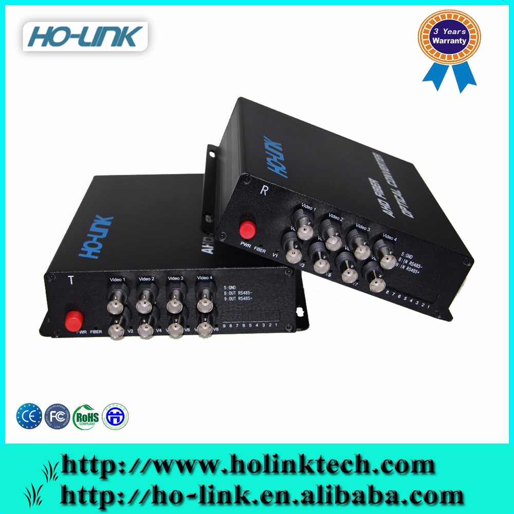 2ch Cvi/ahd/tvi Multiplexer Over Video/audio Fiber Optical ...