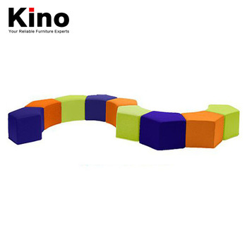 Remarkable Kindergarten Kids Rest Stool Sofa Chair Library Reading Class Center S Shape Combination Soft Stool Buy Chair Stool Rest Chair Stool Kids Stool Gmtry Best Dining Table And Chair Ideas Images Gmtryco