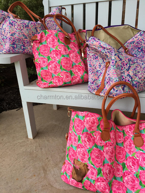 New Arrival Personalized Lilly Pulitzer Weekender Product On Alibaba