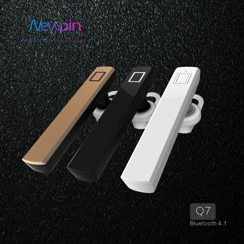 Newpin Q7 Điện Thoại Đầu Tai Nghe Không Dây Bluetooth cho Điện Thoại Di Động