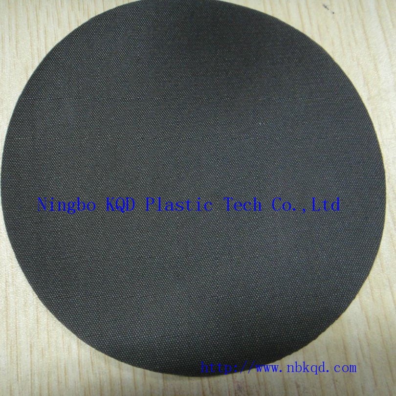 1mm Black Hypalon Rubber Coated Polyester for Luggage
