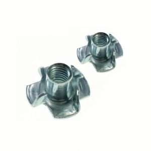Hot sale OEM din 1624 t nuts with 4 prongs